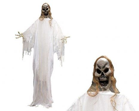 Decorative Hanging White Skeleton Decor Halloween Walking Dead Trick Or Treat